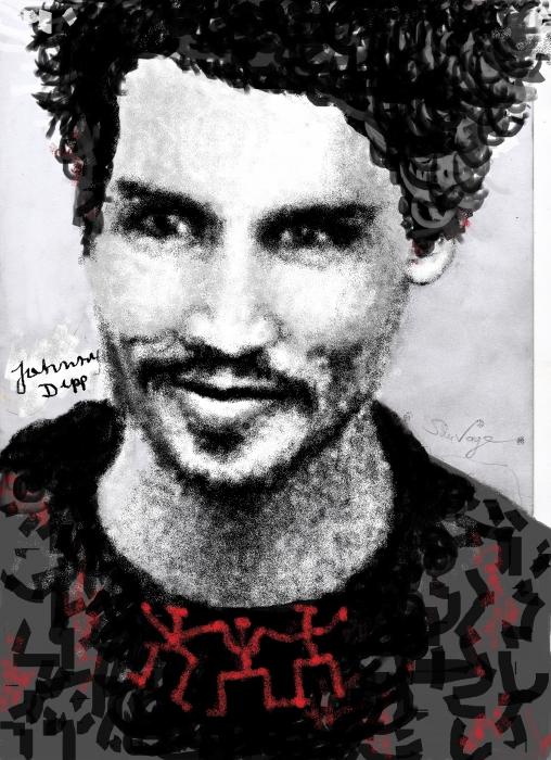 Johnny Depp by Sauvage